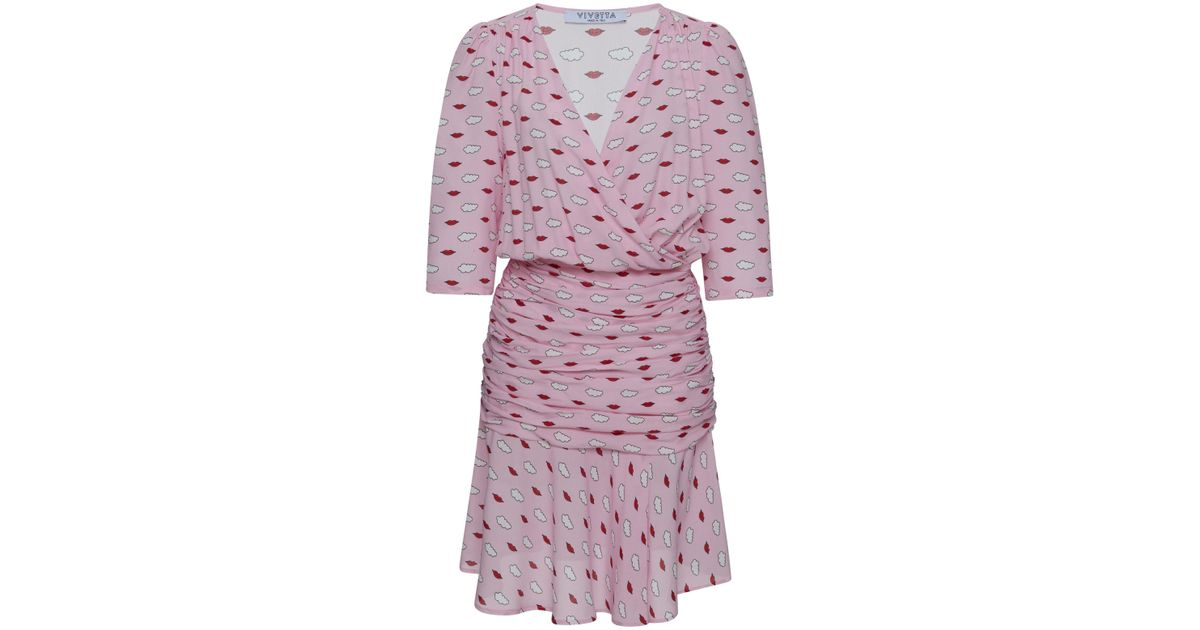 Imperia Mini Flounce Dress Vivetta Clearance With Mastercard Amazon Cheap Online Discount Footlocker Pictures NFFWO3Ca