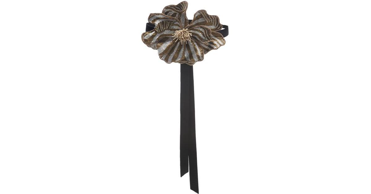 El Cigala Floral Velvet Belt Johanna Ortiz W3OirNdL