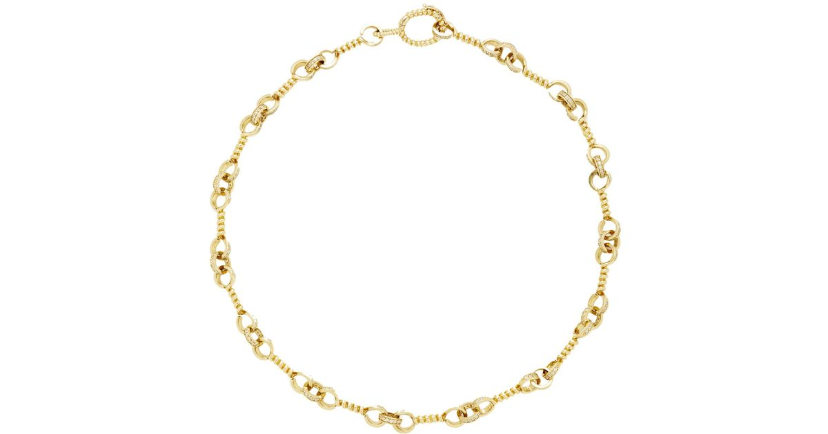 Aurélie Bidermann 18kt gold Bouquet necklace - Metallic zOiyiGP0w