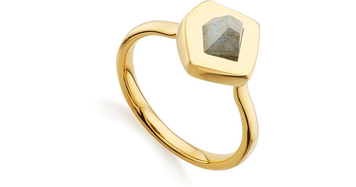Gold Petra Cocktail Ring Labradorite Monica Vinader i8ObiCEzzZ