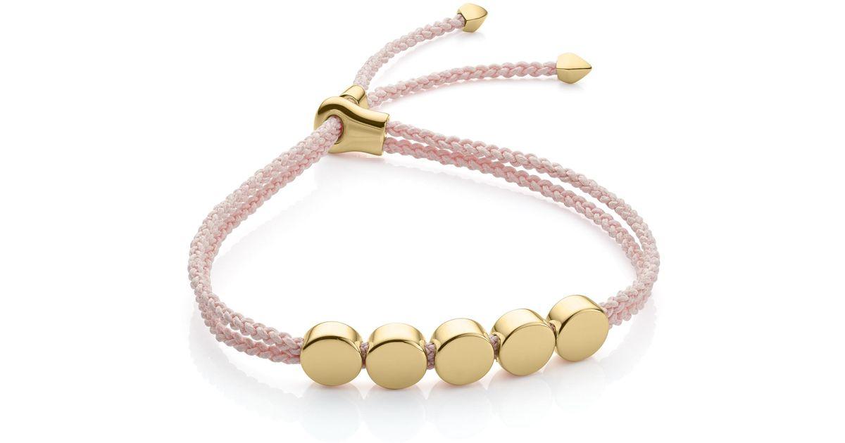 Sterling Silver Linear Bead Friendship Bracelet Monica Vinader Clearance Marketable Cheap 2018 Unisex Drop Shipping E1YUK