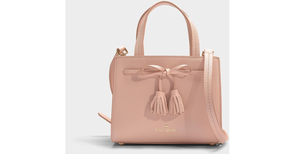 In Sam Kate Spade Thompson Lyst Handbag Pink Calfskin Street NOn0mw8v