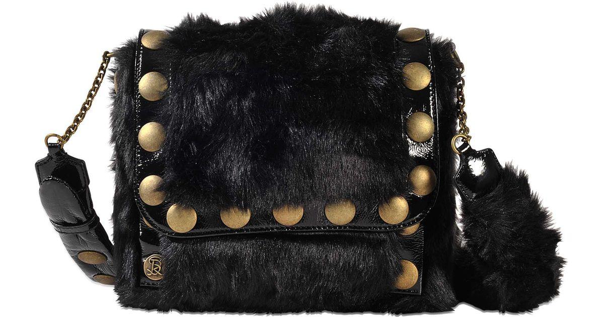 bd7bb8bc71c9 Sonia Rykiel Flap Bag Nikki in Black - Lyst