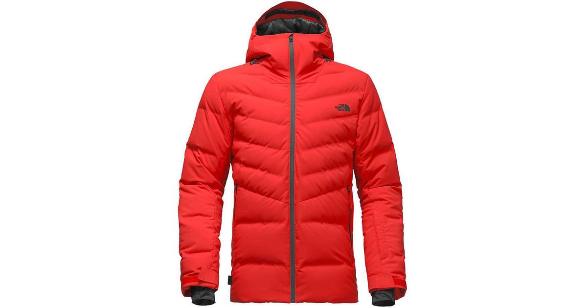 113a8c3a158d ... official lyst the north face cirque down jacket in red for men 1bb4f  d9994
