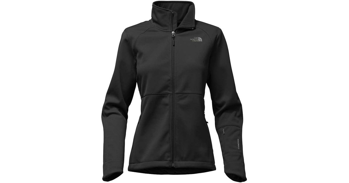 42367bb33 The North Face - Black Apex Risor Jacket - Lyst