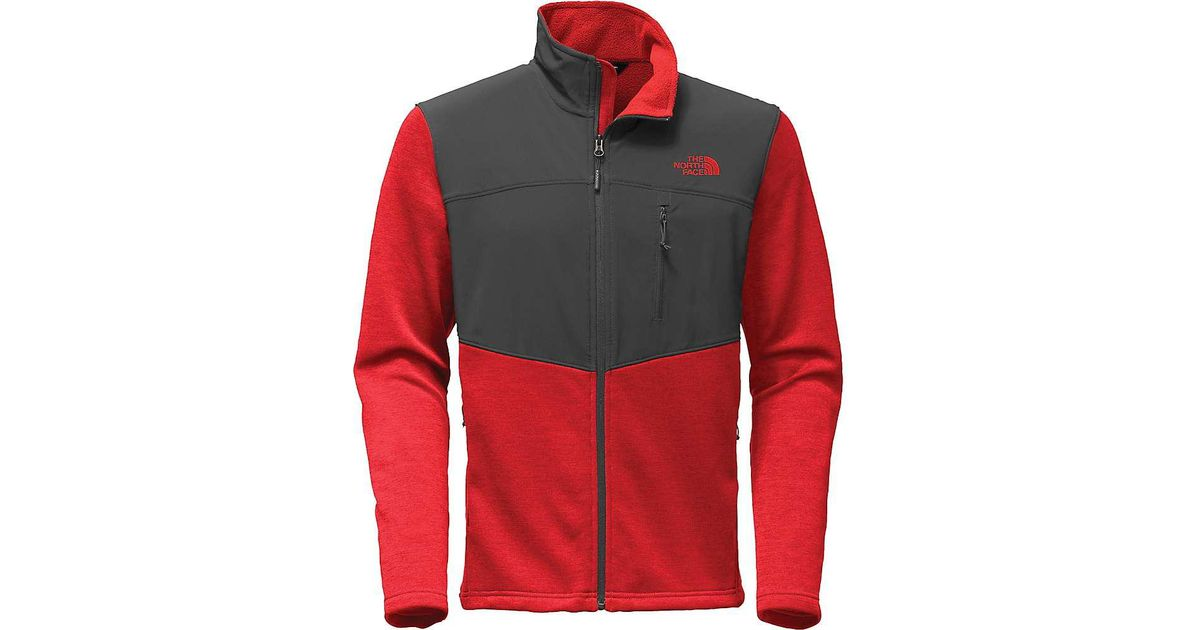 2398d172a The North Face - Red Norris Full Zip Jacket for Men - Lyst