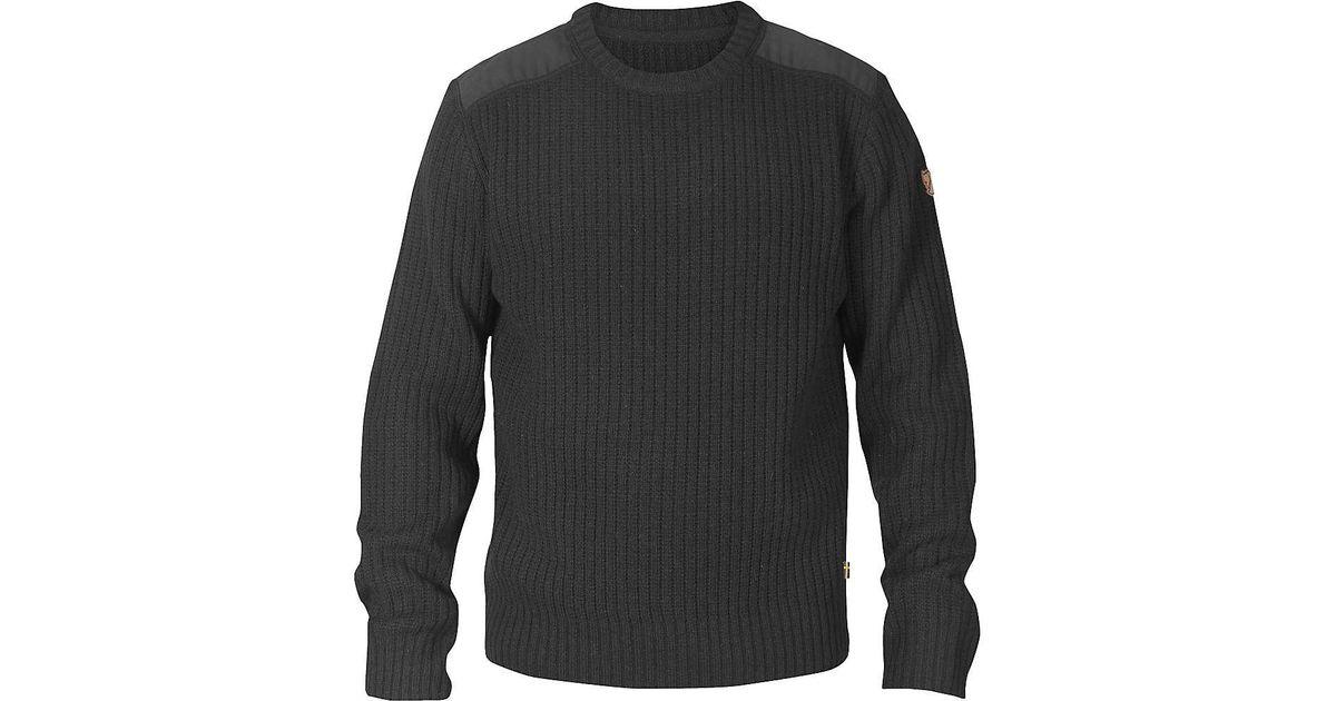 d607d41c9ab3e Fjallraven Singi Knit Sweater in Gray for Men - Lyst