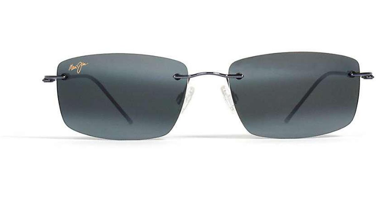 4866696111a5d Lyst - Maui Jim Sandhill Polarized Sunglasses in Blue for Men
