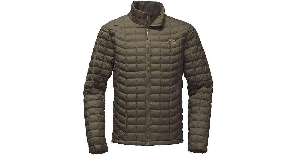 c5440345cb ... cheap lyst the north face thermoball jacket in green for men ccaa4 9ca3a