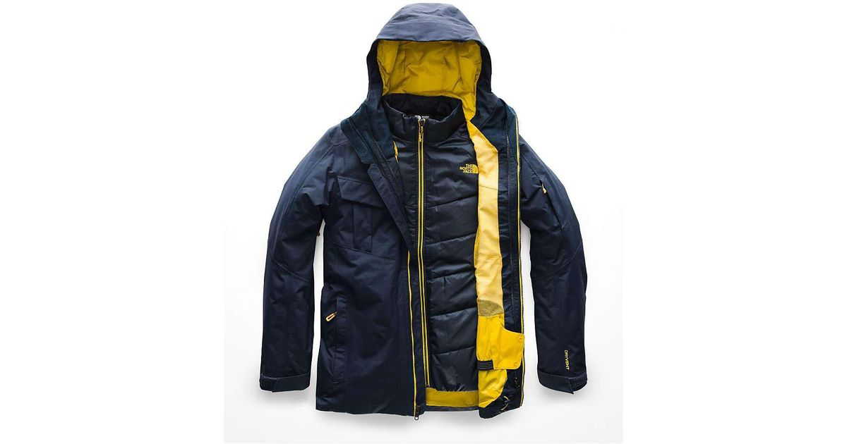 9292ded55 The North Face Fourbarrel Triclimate Jacket in Blue for Men - Lyst