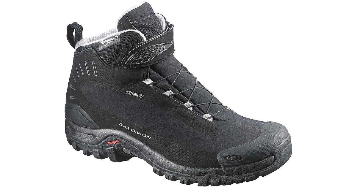 1ff42e8ea746 Lyst - Yves Salomon Deemax 3 Ts Wp 23 Men s Walking Boots In Black in Black  for Men