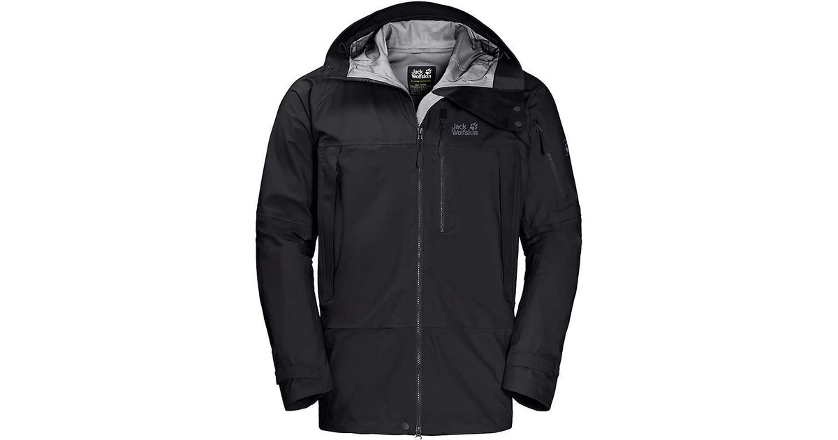 8cbd013a28 Lyst - Jack Wolfskin The Humboldt Jacket in Black for Men - Save 17%