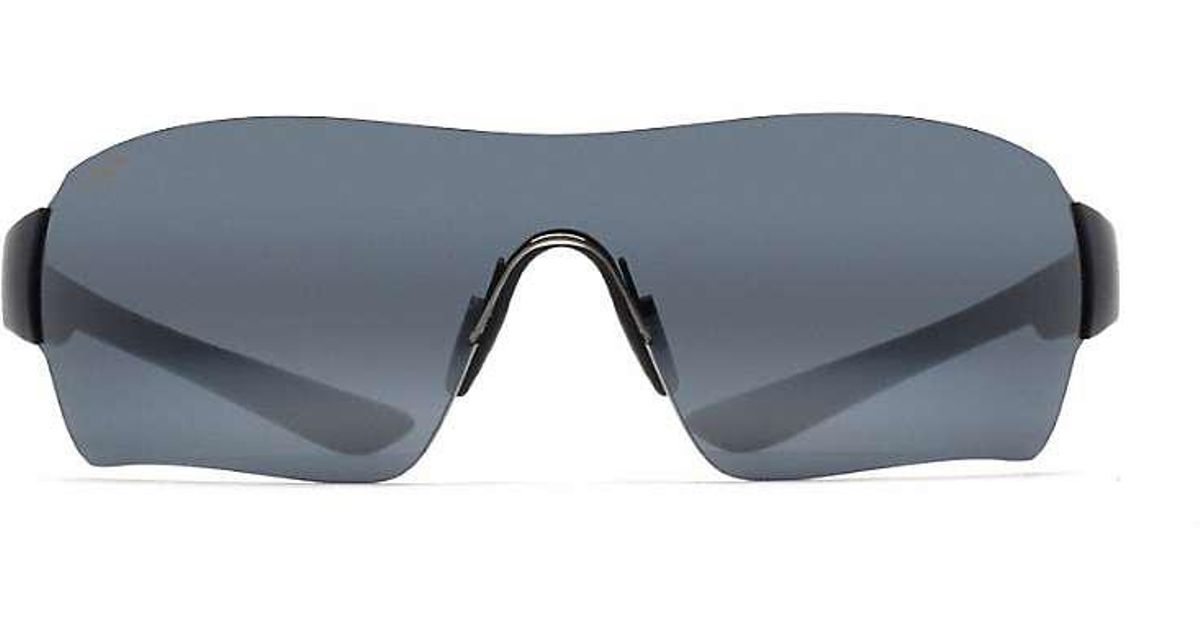 f3416fb83e Lyst - Maui Jim Night Dive Polarized Sunglasses in Gray for Men