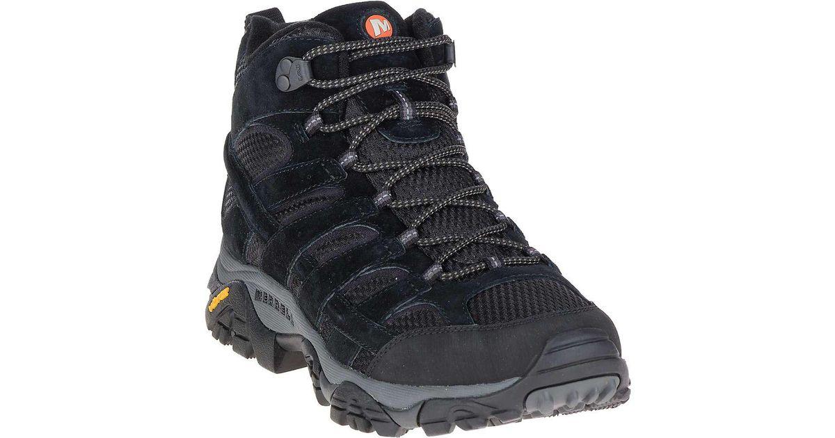 f573cc65d80 Merrell - Black Moab 2 Vent Mid Boot for Men - Lyst