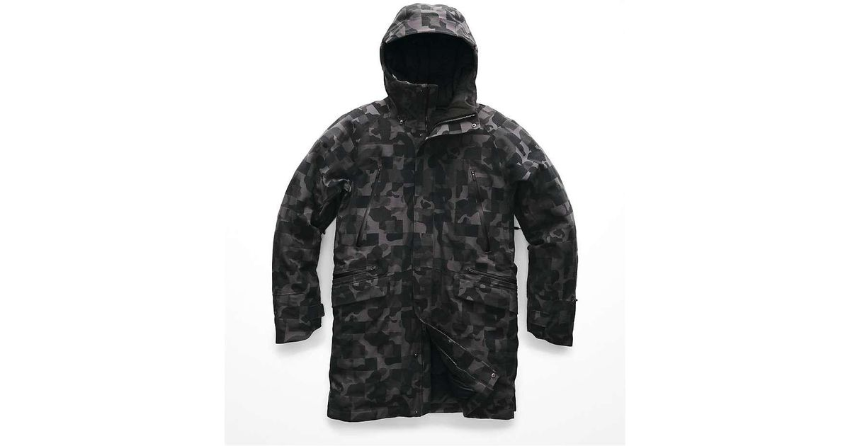 399e1c1fb85 The North Face Cryos Wool Blend Gtx Down Parka in Black for Men - Lyst