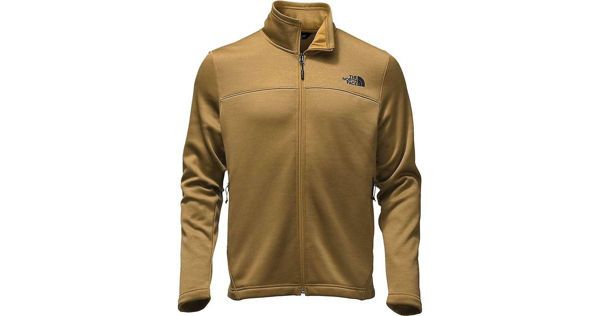 cac8fc069 The North Face - Brown Schenley Full Zip Jacket for Men - Lyst