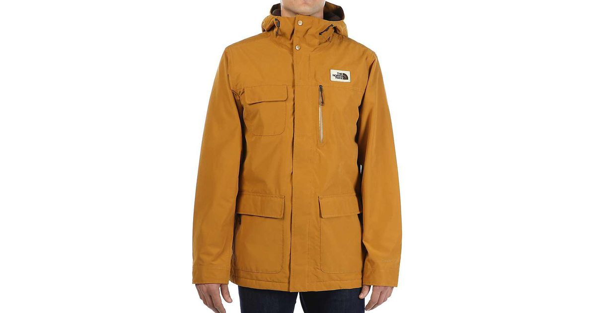 3d87580107bc Lyst - The North Face Cuchillo Parka in Brown for Men