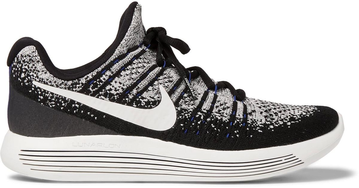 242208a9c873 Nike Nikelab Gyakusou Lunarepic Low Flyknit 2 Sneakers in Black for Men -  Lyst
