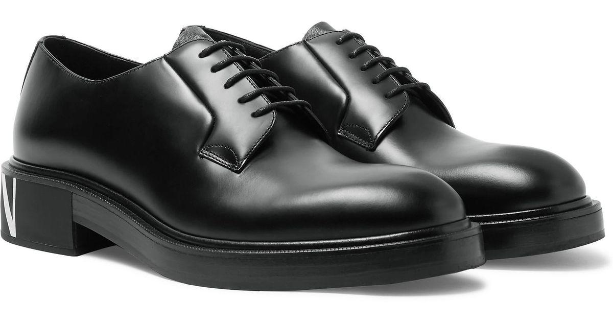 810d49e1c valentino-black-Garavani-Logo-print-Leather-Derby-Shoes.jpeg