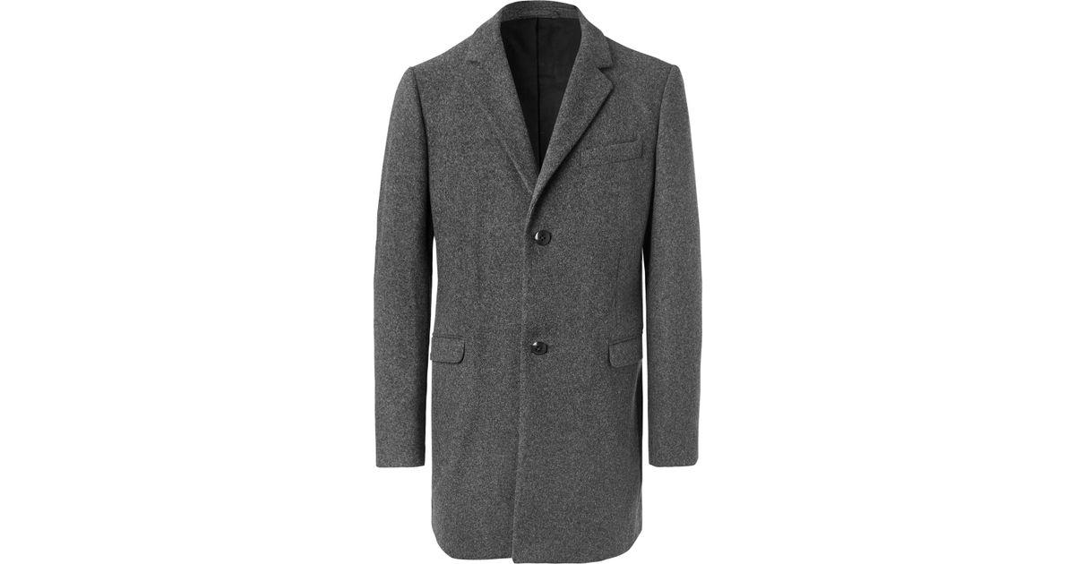For Folk Coat Lyst Gray Men Blend In Wool n1ARqP1Z