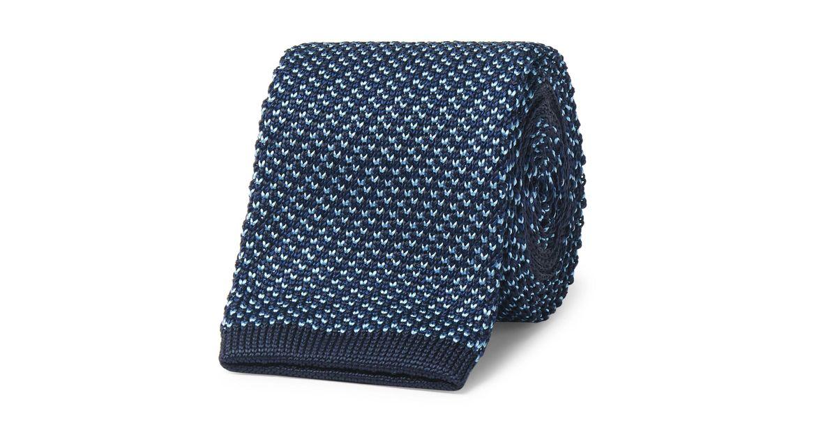 6.5cm Tricoté Mûriers Cravate En Soie Dunhill uwVniD
