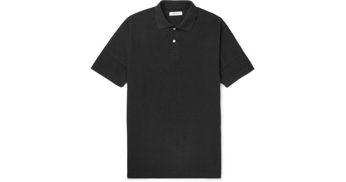 Websites Wear Resistance Clerk Cotton-piqué Polo Shirt - Black Nonnative Perfect Cheap Online Cheap Prices Reliable Visit Cheap Price vB4ow10s76