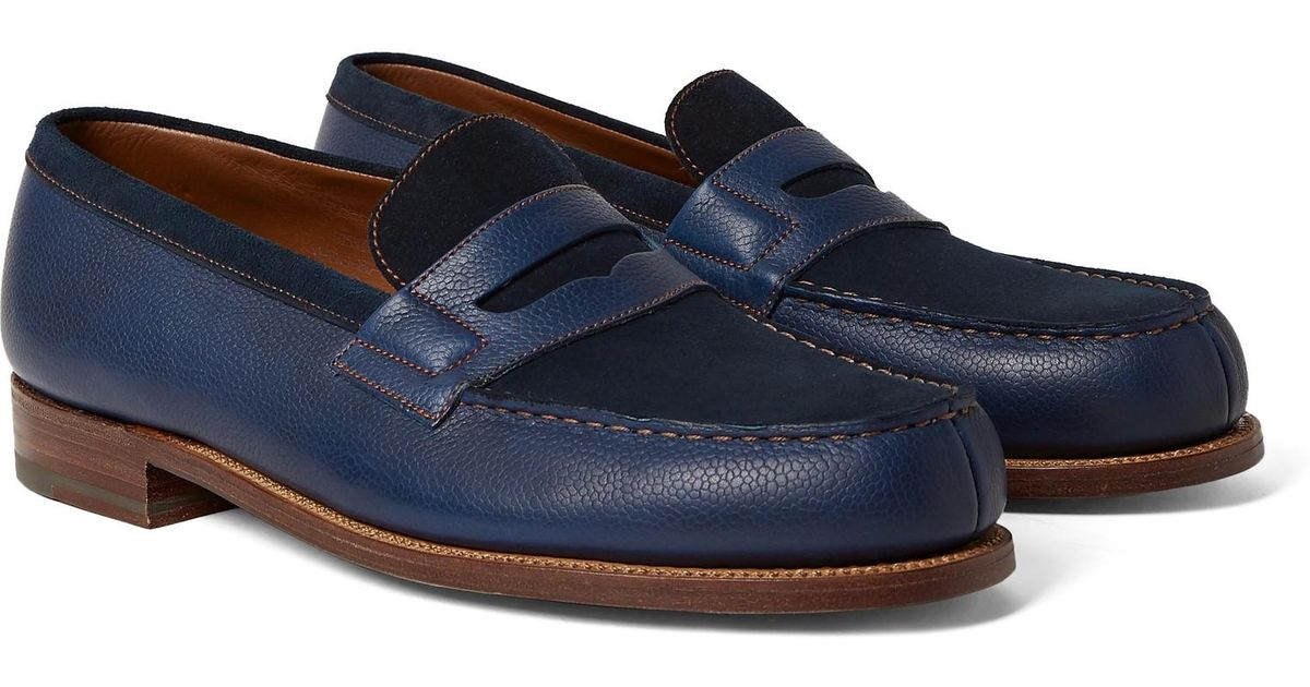Leather Penny Loafers J.M. Weston UMzzsue2Gq