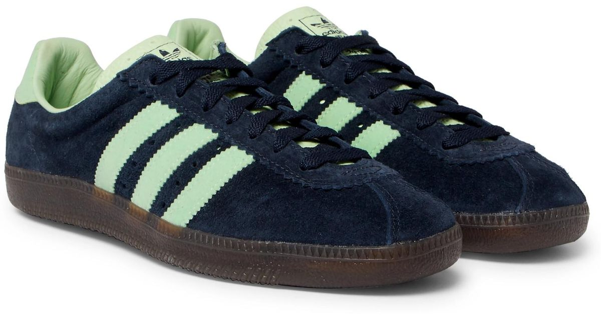 Padiham Spezial Leather-trimmed Suede Sneakers adidas Originals SfyGVsgUs