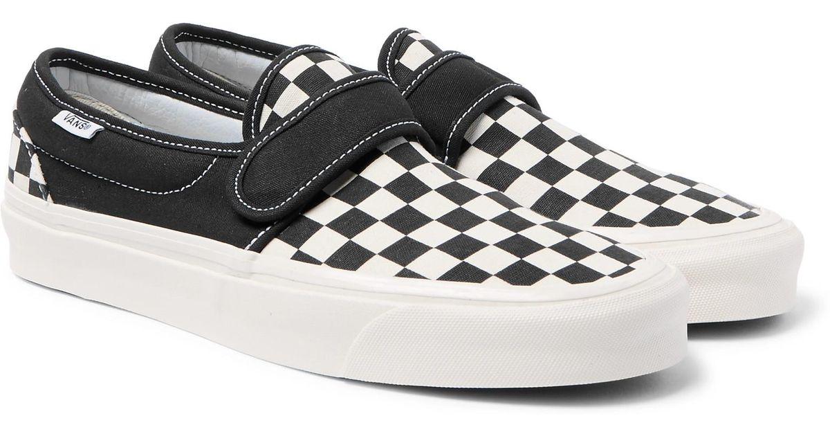 b2863006d78 Vans Slip-on 47 V Dx Anaheim Factory Pack Sneakers in Black for Men - Lyst