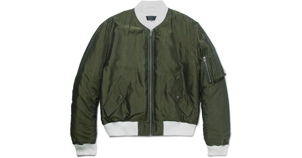 219c171dd Haider Ackermann - Multicolor Padded Shell Bomber Jacket for Men - Lyst
