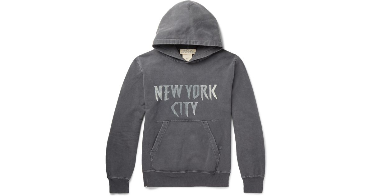 Outlet Discounts 2018 Unisex Printed Loopback Cotton-jersey Hoodie Remi Relief Ebay Cheap Online Buy Cheap Big Sale vDrNCT
