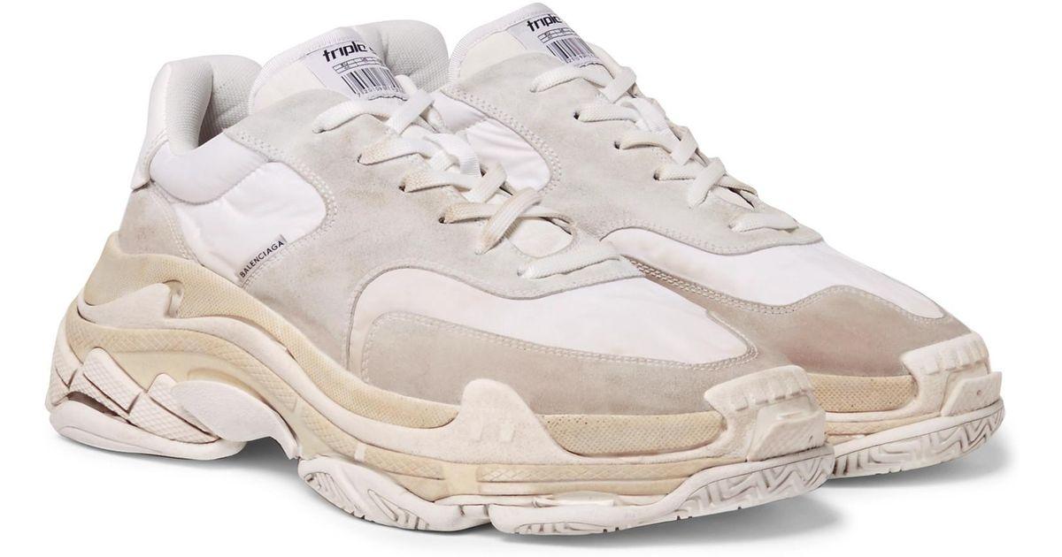 e99515a buy new balenciaga triple s trainers black sneakers online
