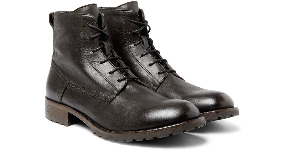 Plaistow Leather Boots Belstaff wBBk4