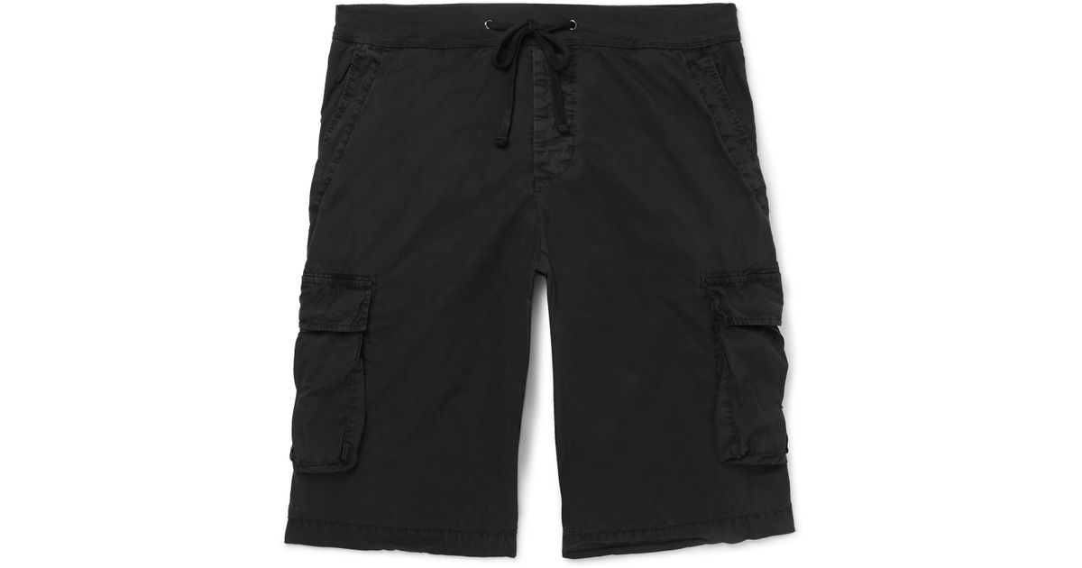 Stretch-cotton Drawstring Cargo Shorts James Perse vAW3h