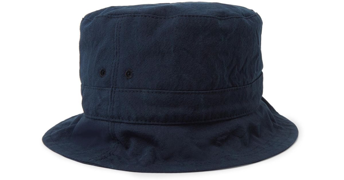 7388b9a9450 Lyst - Thom Browne Cotton-canvas Bucket Hat in Blue for Men