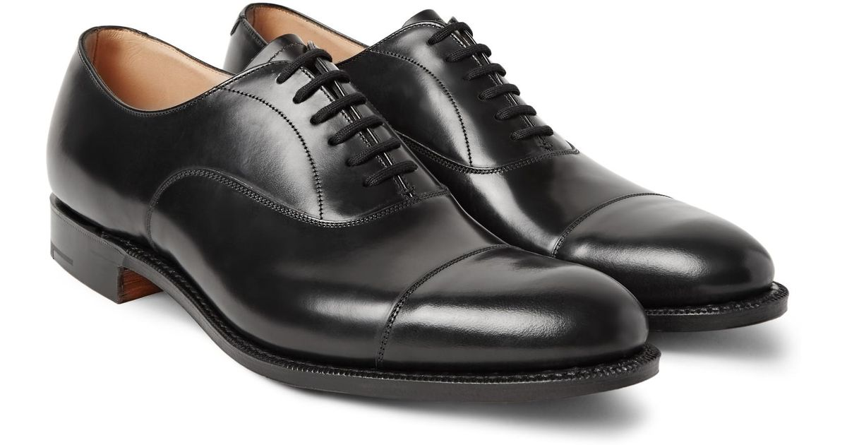 fc1b9564a86 Lyst - Church s Dubai Polished-leather Oxford Shoes in Black for Men