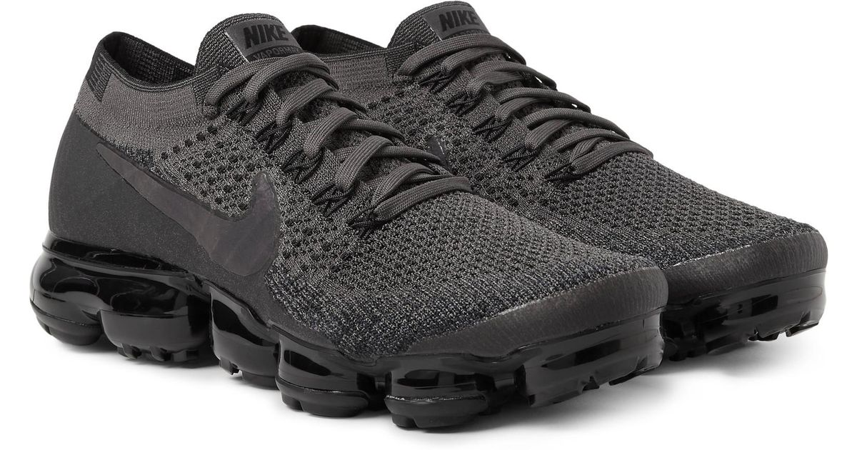 843dc0f7a26a16 Lyst - Nike - Lab Air Vapormax Flyknit Sneakers - Charcoal in Gray for Men