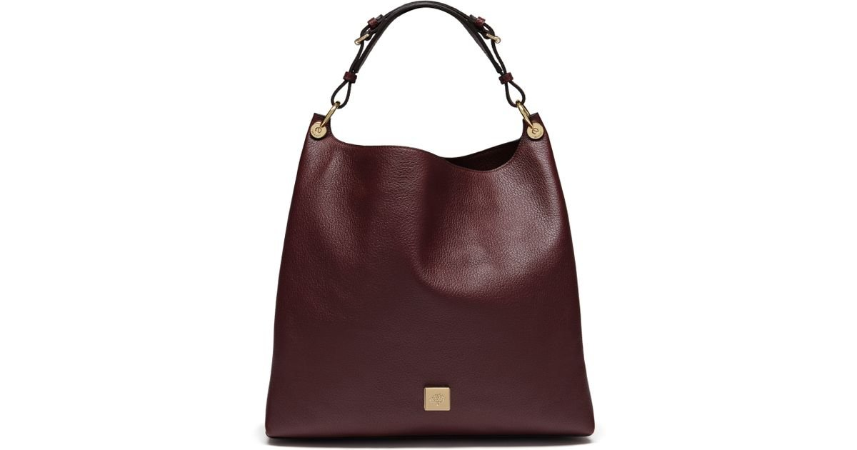 ced0f192e1e6 ... switzerland lyst mulberry freya leather bag in purple abc55 24693