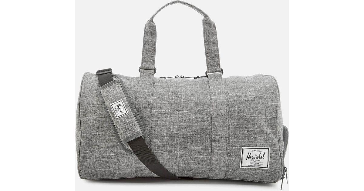 08e1eb1b0a7b Herschel Supply Co. Novel Duffle Weekend Bag in Gray for Men - Lyst