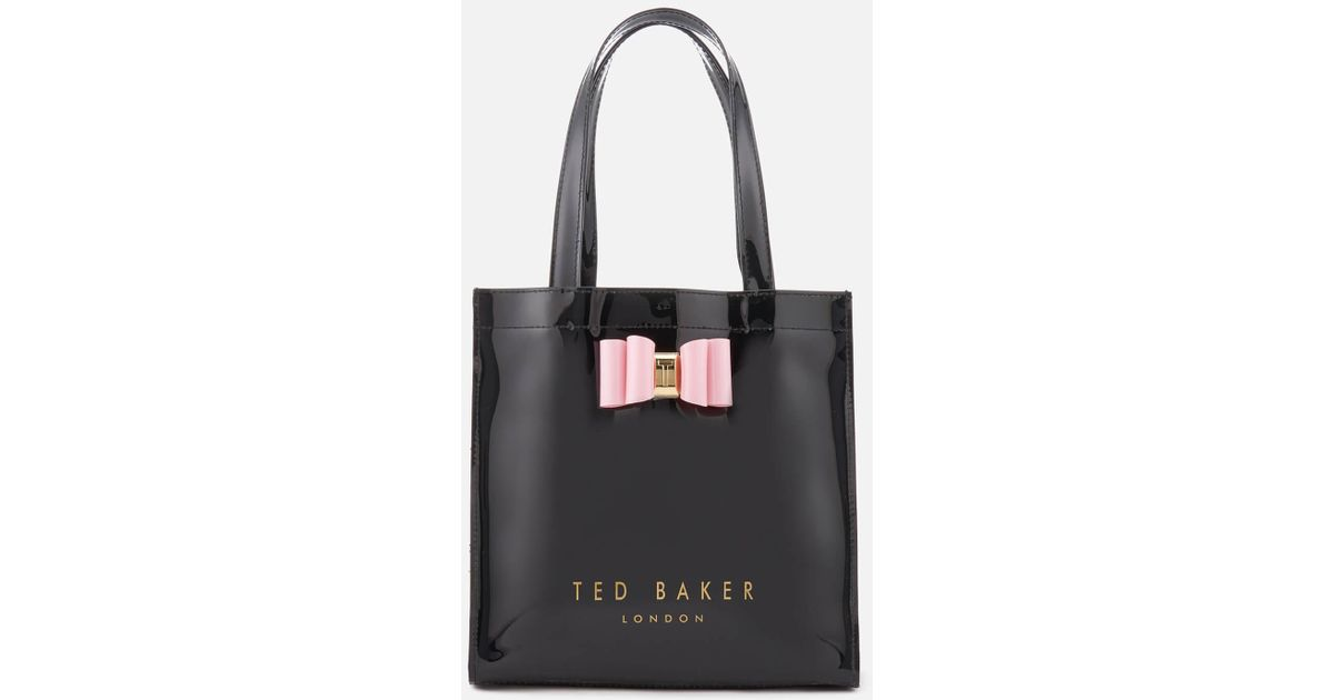7909c18dd5 Ted Baker Jenacon Bow Detail Small Icon Bag - Lyst
