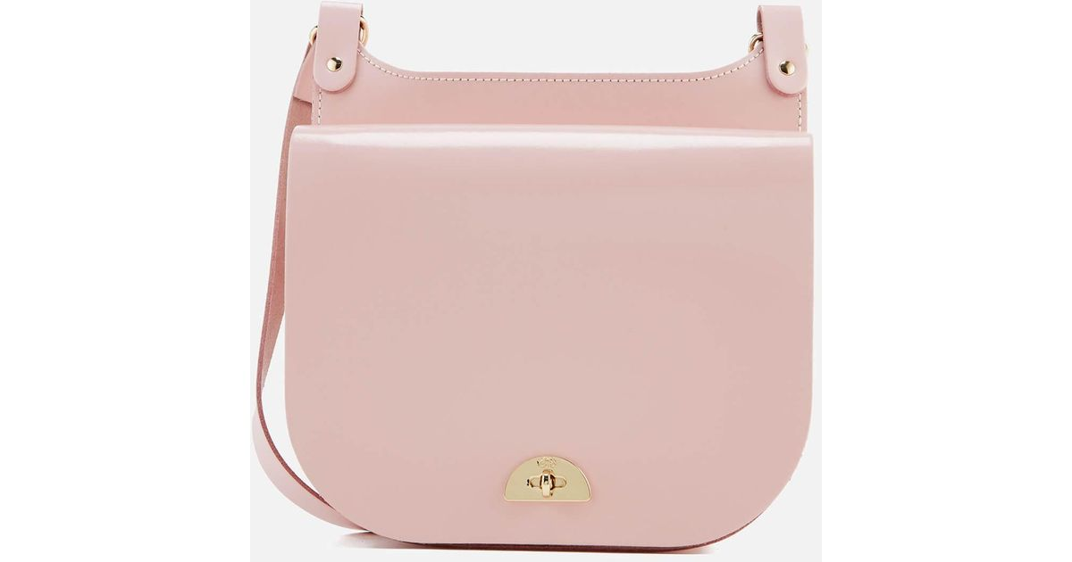 a01102ddd037 Cambridge Satchel Company Conductors Bag in Pink - Lyst