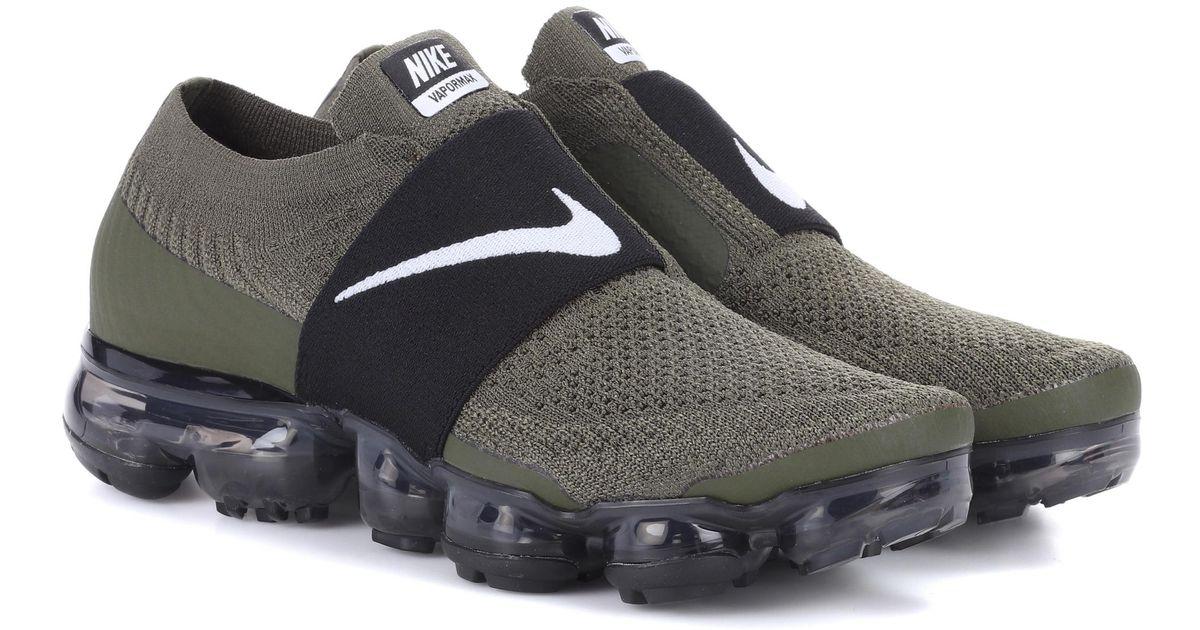 7daf8b2f5603 Lyst - Nike Air Vapormax Flyknit Mock Sneakers in Green