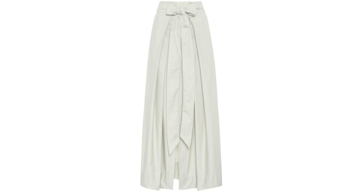 a9923bd22 Lyst - Kalita Avedon Days Cotton Maxi Skirt