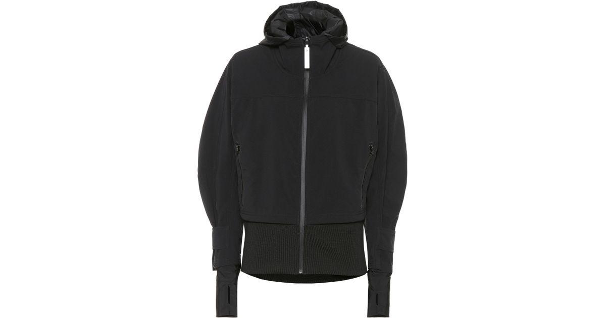 79c79c85f55c Lyst - Adidas By Stella Mccartney Run Trail Soft Shell Jacket in Black