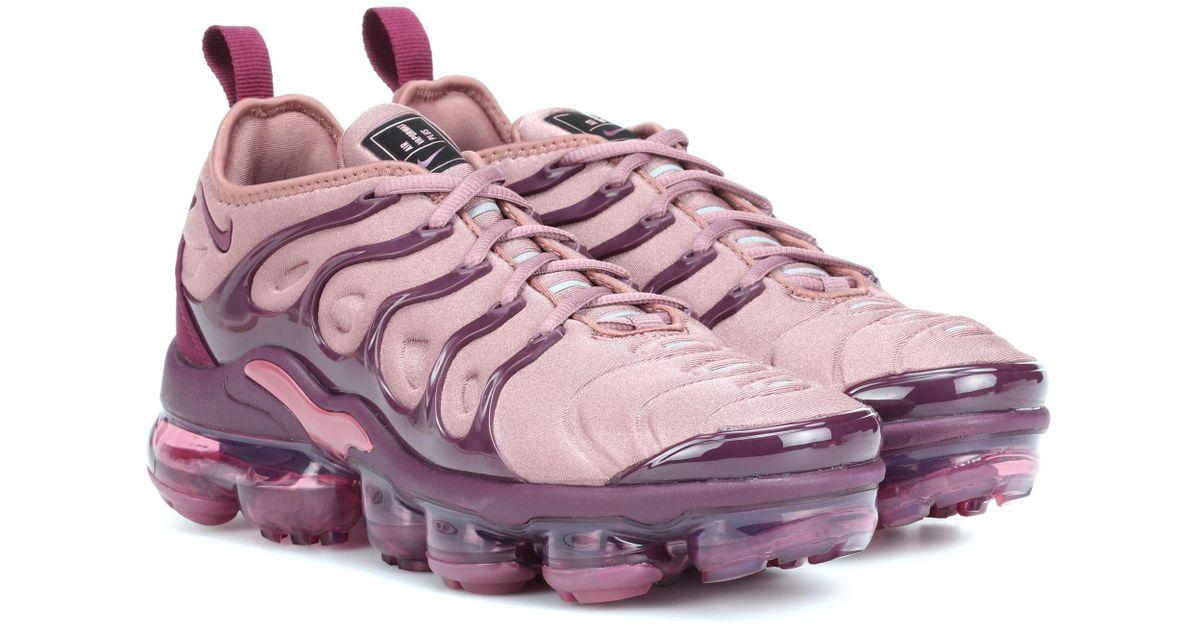e3e86f844af17 official store nike air vapormax plus 41aaf 32529  coupon code for nike air  vapormax plus sneakers in pink lyst 16d90 d8d6d