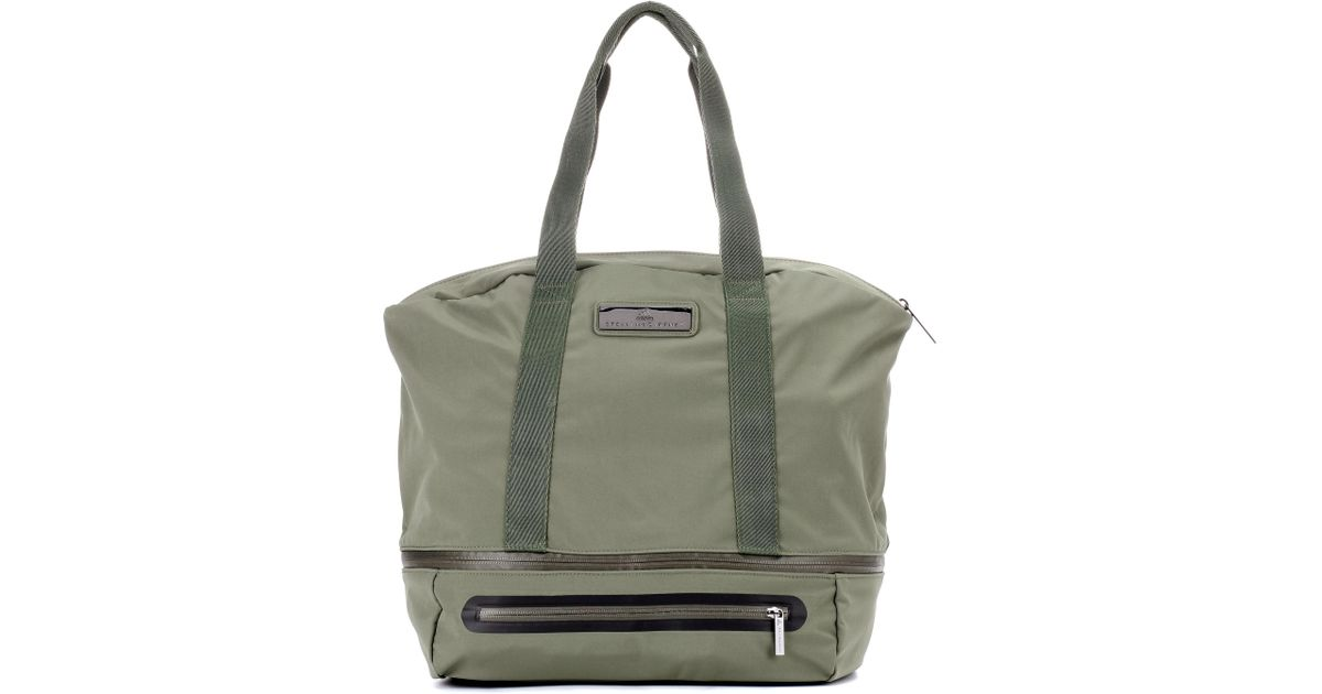 61178b8779 Lyst - Adidas By Stella Mccartney Iconic Large Gym Bag in Green
