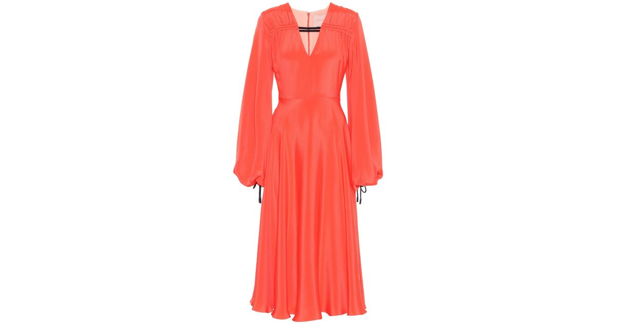 Houma silk dress Roksanda Ilincic NVd2D