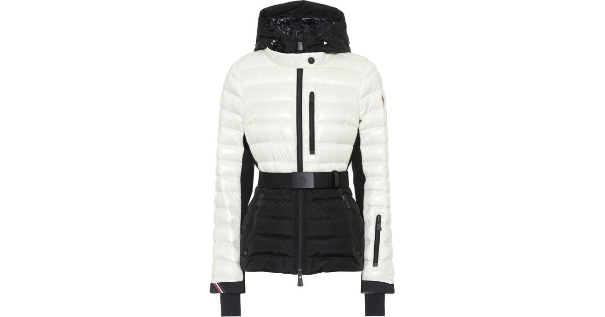 b82825c3c Moncler Grenoble Bruche Ski Jacket in White - Lyst