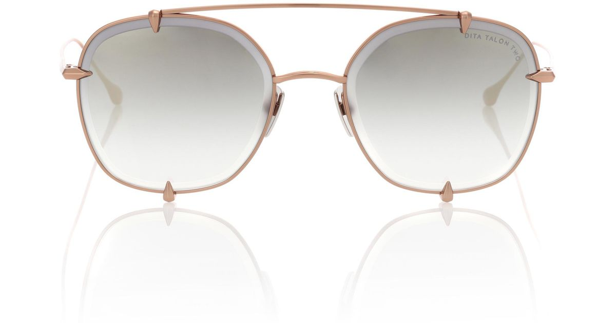 770cb6d702 Dita Eyewear Talon-two Sunglasses in Brown - Lyst