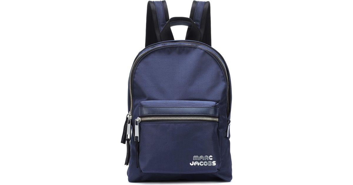 Lyst - Marc Jacobs Trek Pack Medium Backpack in Blue bb774eac62157